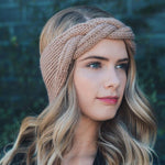 Twist Knitted Headwrap