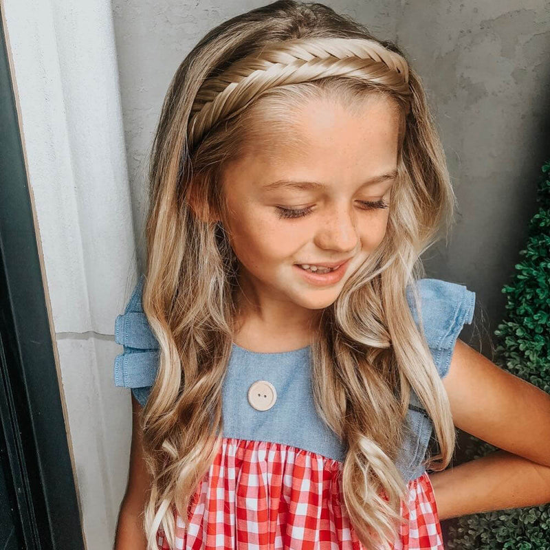 Arisa Fishtail for Kids - Ashy Highlighted