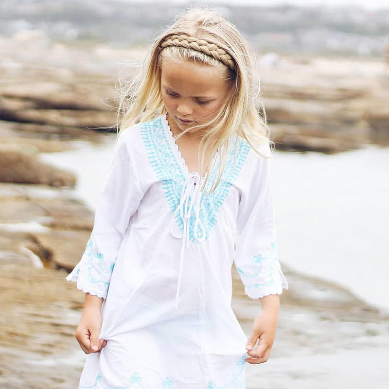Lulu Two Strand for Kids - Ashy Highlighted