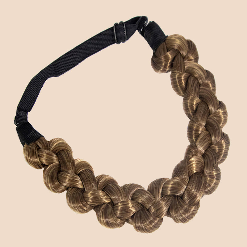 Addie Knots Braid - Ashy Light Brown
