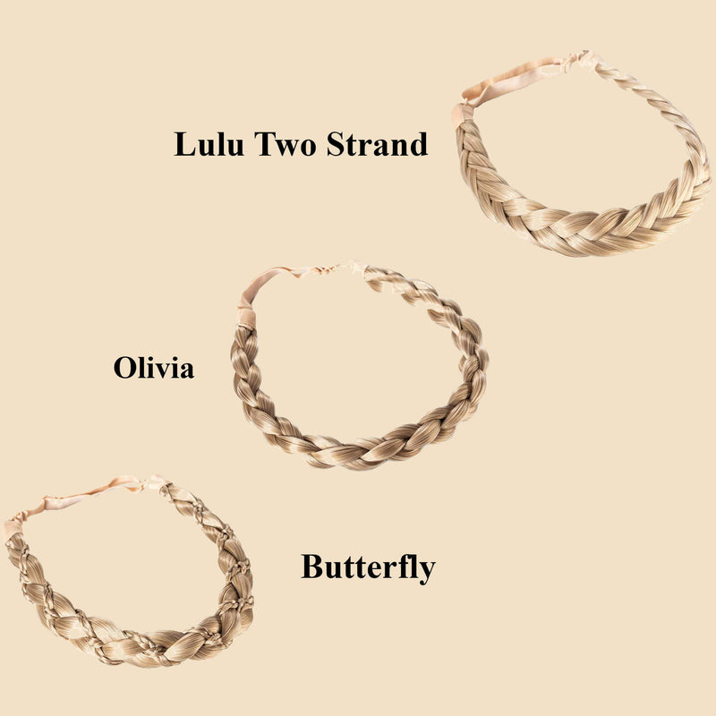 Madison Braid Bundle - Lulu Two Strand, Olivia, Butterfly - Ashy Highlighted