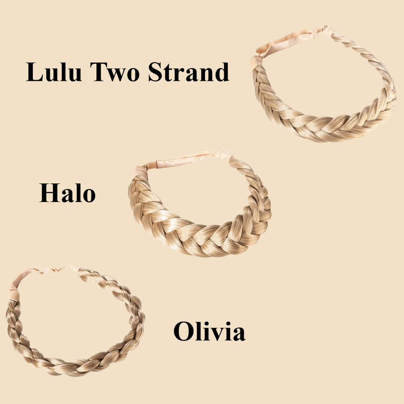 Madison Braid Bundle - Lulu Two Strand, Halo, Olivia - Ashy Highlighted