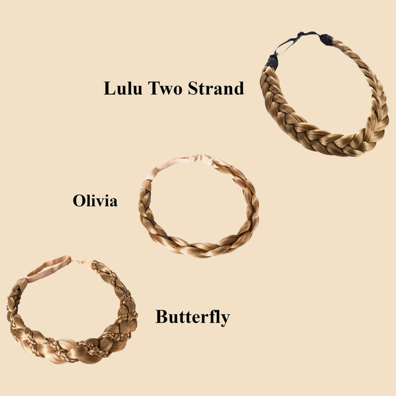 Madison Braid Bundle - Lulu Two Strand, Olivia, Butterfly - Dirty Blonde