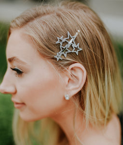 Crystal Star Hairpin Collection