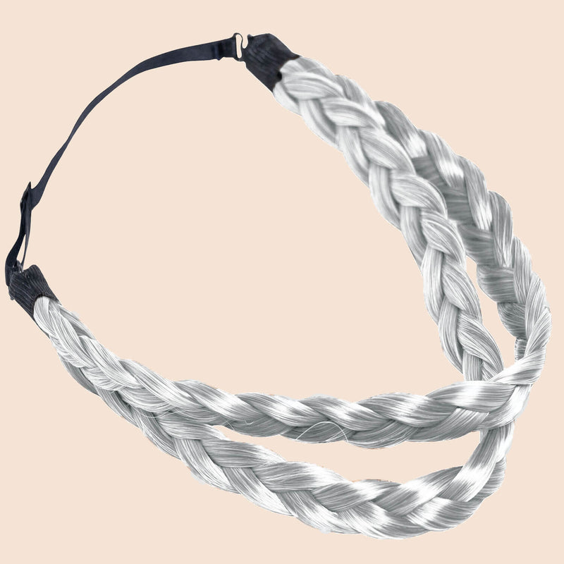 Double Lulu Two Strand - Silver Grey