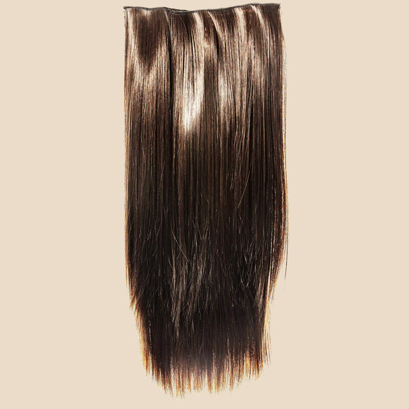 Katie U Clip Extension - Ashy Light Brown
