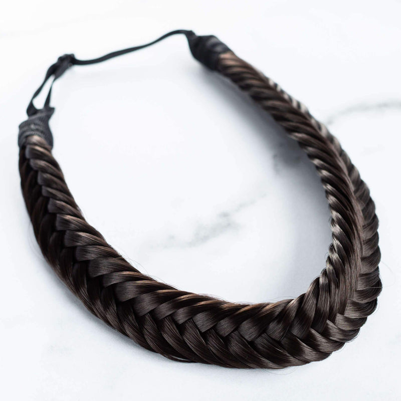 Arisa Fishtail - Dark Brown
