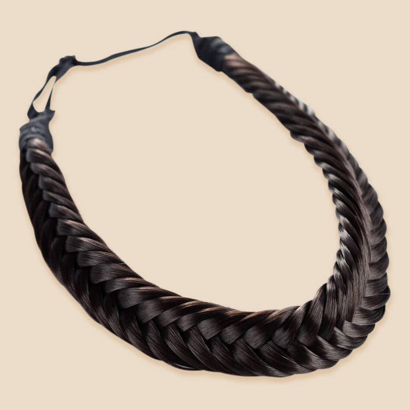 Arisa Fishtail for Kids - Dark Brown