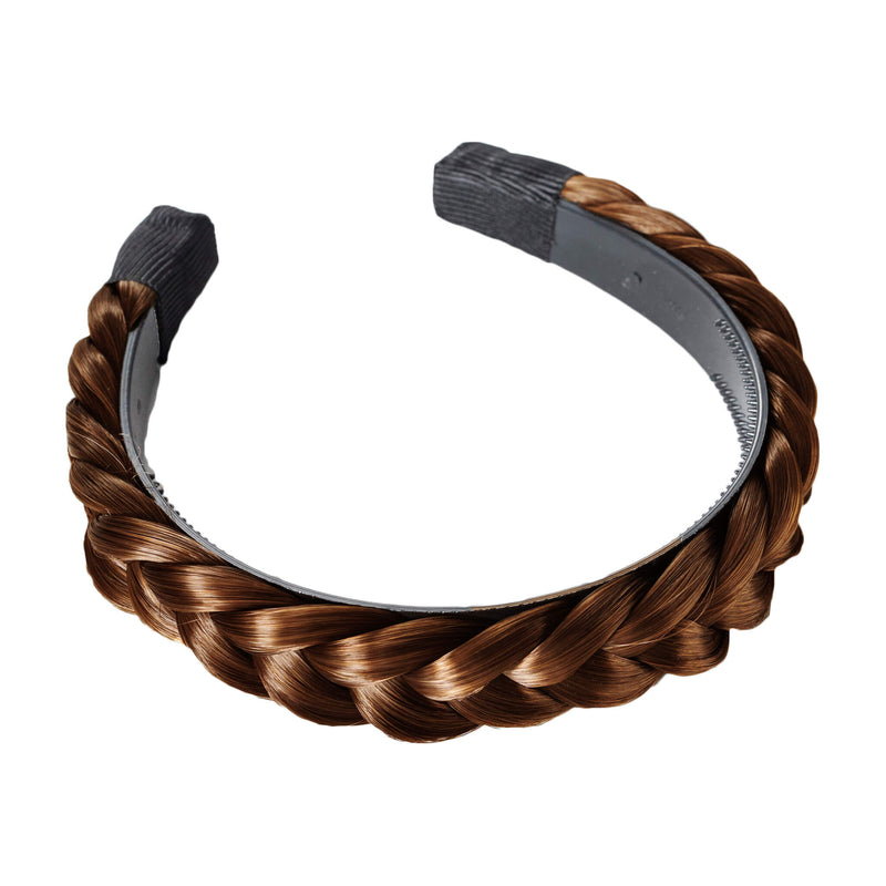 Hard Headband Lulu Two Strand - Ashy Light Brown