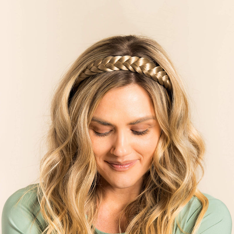 Madison Braid Bundle - Lulu Two Strand, Dry Shampoo - Ashy Highlighted