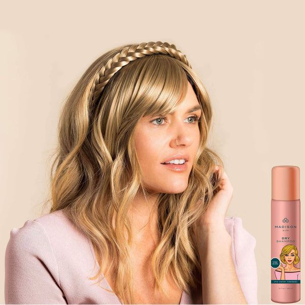 Madison Braid Bundle - Lulu Two Strand, Dry Shampoo