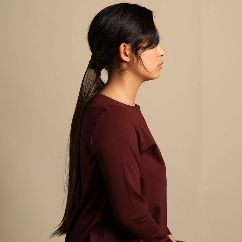 The Bree Ponytail - Dark Brown