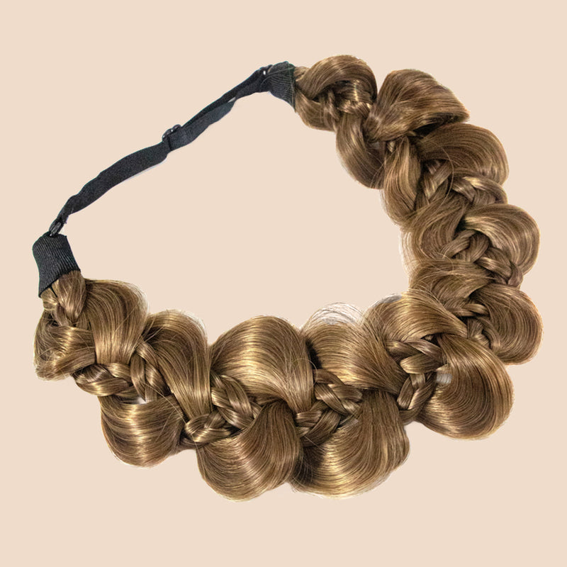 Nori Gourd Braid - Ashy Light Brown