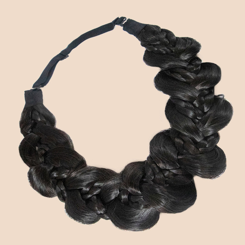 Nori Gourd Braid - Dark Brown
