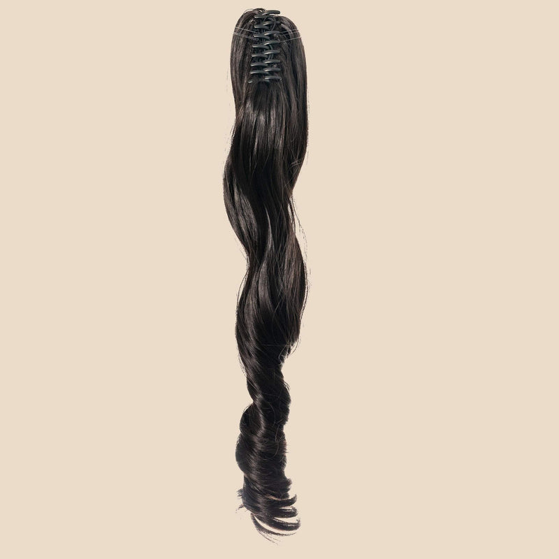 The Naomi Ponytail - Dark Brown