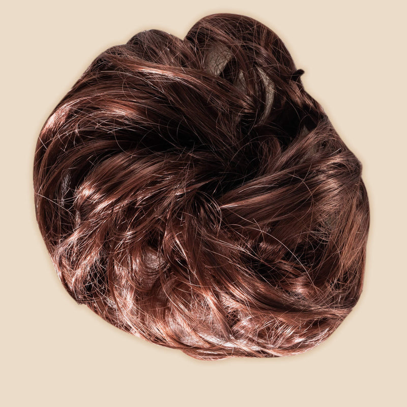 Madison Braid Bundle - Lulu Two Strand, Top Knot + FREE Detangler Brush - Auburn
