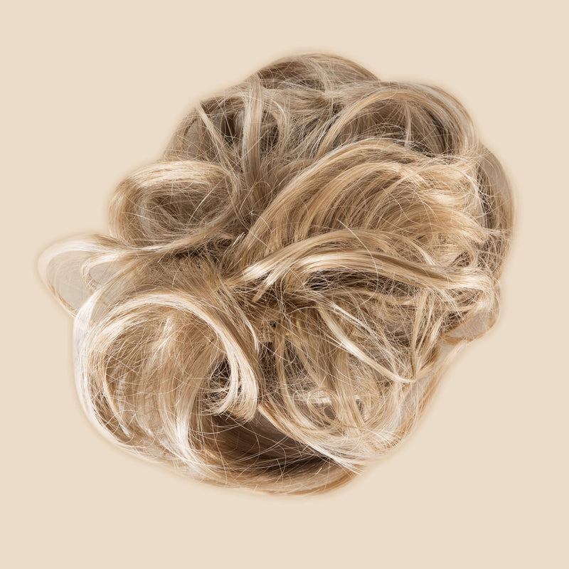 Madison Braid Bundle - Lulu Two Strand, Top Knot + FREE Detangler Brush - Ashy Highlighted