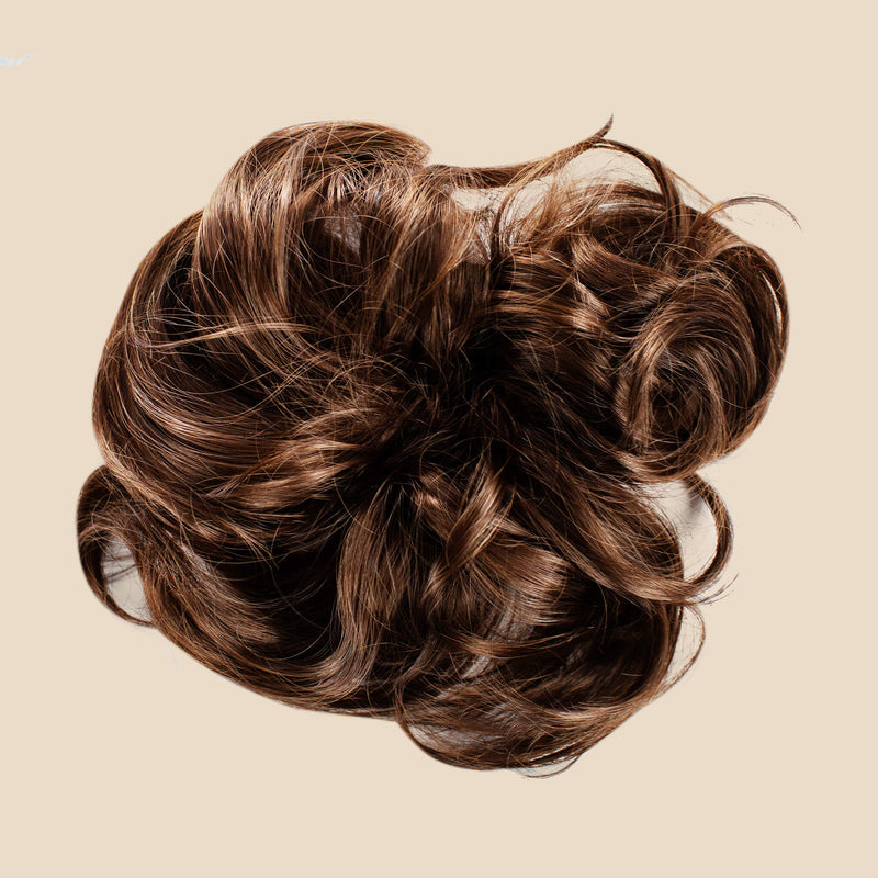 Madison Braid Bundle - Lulu Two Strand, Top Knot + FREE Detangler Brush - Ashy Light Brown