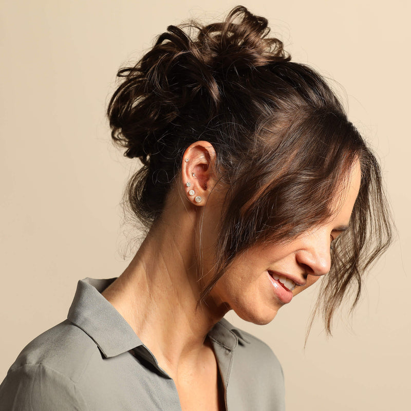Madison Braid Bundle - Lulu Two Strand, Top Knot, Dry Shampoo - Brunette