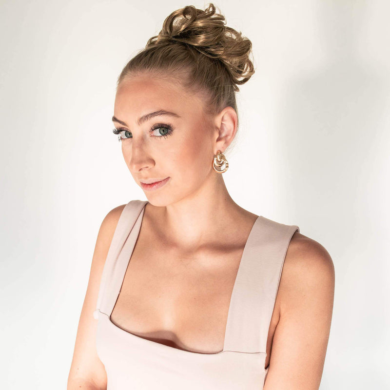 Top Knot Ponytail Holder - Dirty Blond