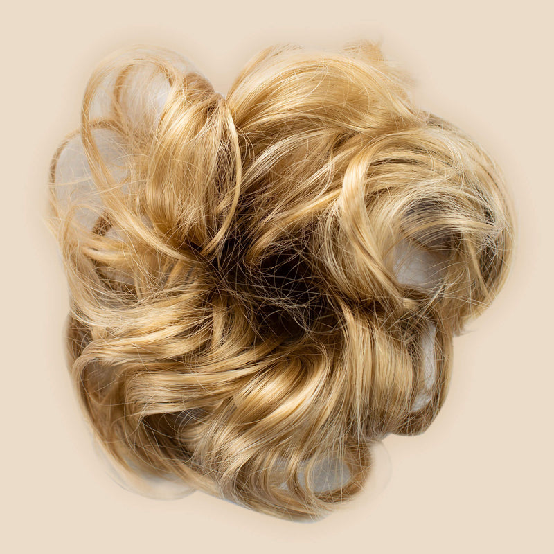 Madison Braid Bundle - Lulu Two Strand, Top Knot + FREE Detangler Brush - Sunset Blonde