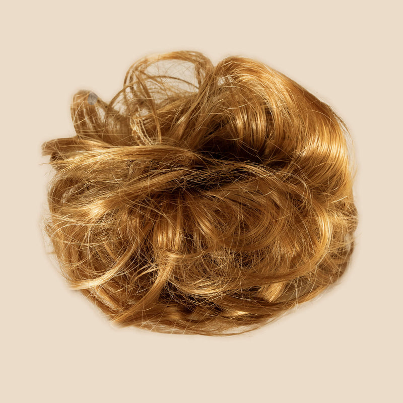 Madison Braid Bundle - Lulu Two Strand, Top Knot + FREE Detangler Brush - Strawberry Blonde