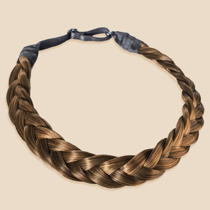 Madison Braid Bundle - Lulu Two Strand, Top Knot - Ashy Light Brown