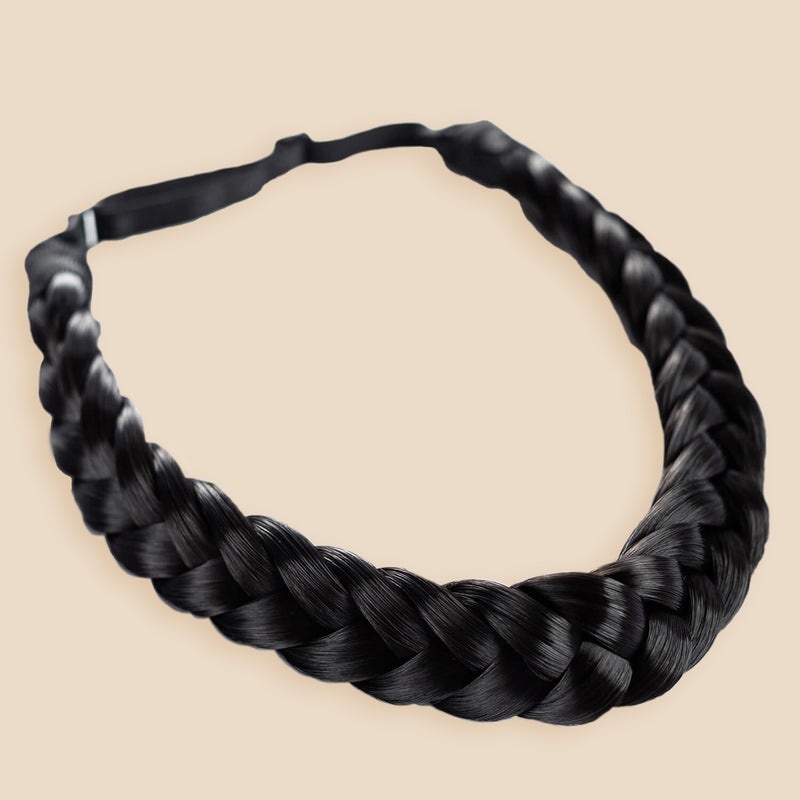 Madison Braid Bundle - Lulu Two Strand, Top Knot - Black