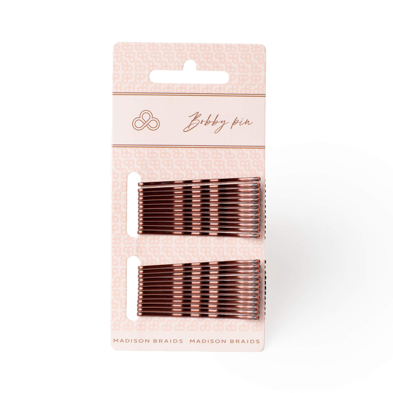 Bobby Pins - Brown