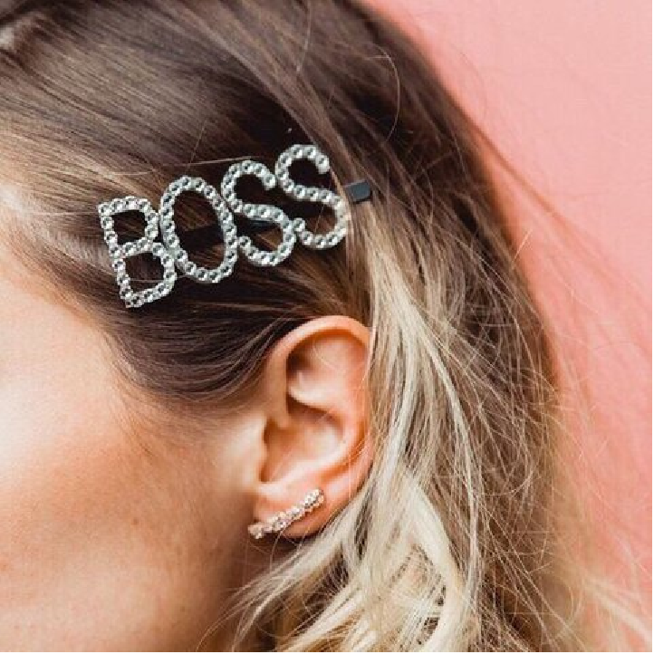 Courtney Collection Letter Hairpins - Boss