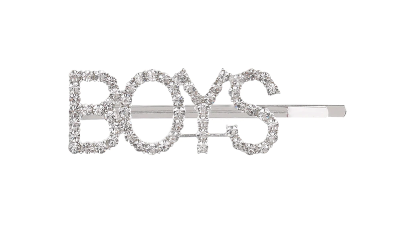 Courtney Collection Letter Hairpins - Boys