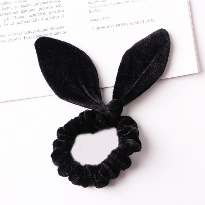 Velvet Knot Scrunchie 3 Piece Set