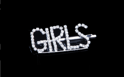Courtney Collection Letter Hairpins - Girls