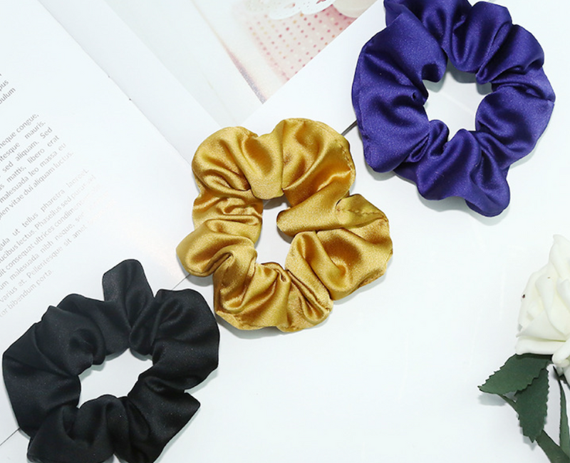 Hope 3-Piece Scrunchie Set - Dark Tones