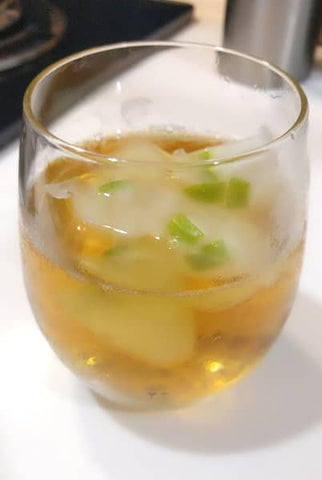 Taiwan black tea with lemon ice cubes - ToDoTea