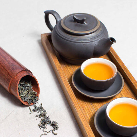Brew Oolong tea with a teapot - ToDoTea