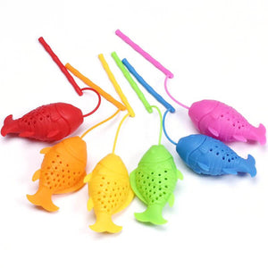 Fish Tea Infusers All Colours - ToDoTea