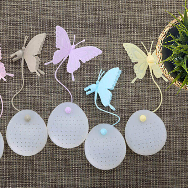 Butterfly Tea Infusers All Colours - ToDoTea
