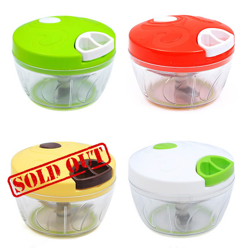 Speedy Manual Food Choppers - ToDoTea