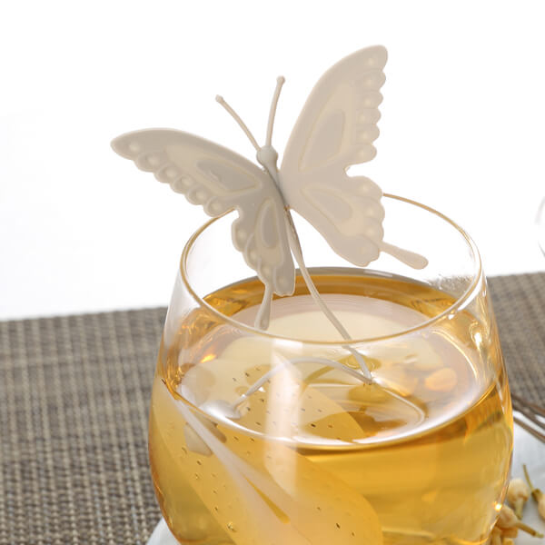Butterfly Tea Infuser Gray - ToDoTea