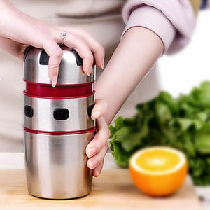 Press Stainless Steel Orange and Grapefruit Juicer - ToDoTea