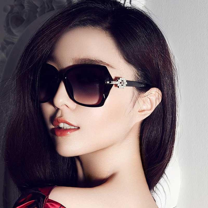 4929447970f Oversized Sunglasses Brand Designer Retro Sun glasses for Women Fashion  Vintage Shades Elegant Ladies Cheap Gradient