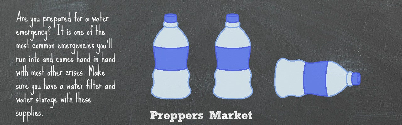 Water Preparedness & Water Preparedness | Preppers Market