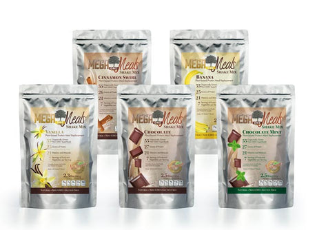 MegaOne Meal Shake Mega Sample Pack - All 5 Flavors