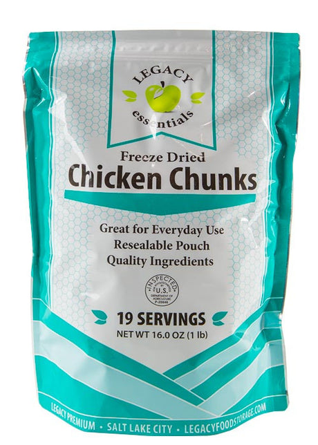100% USDA Freeze Dried Chicken Dices