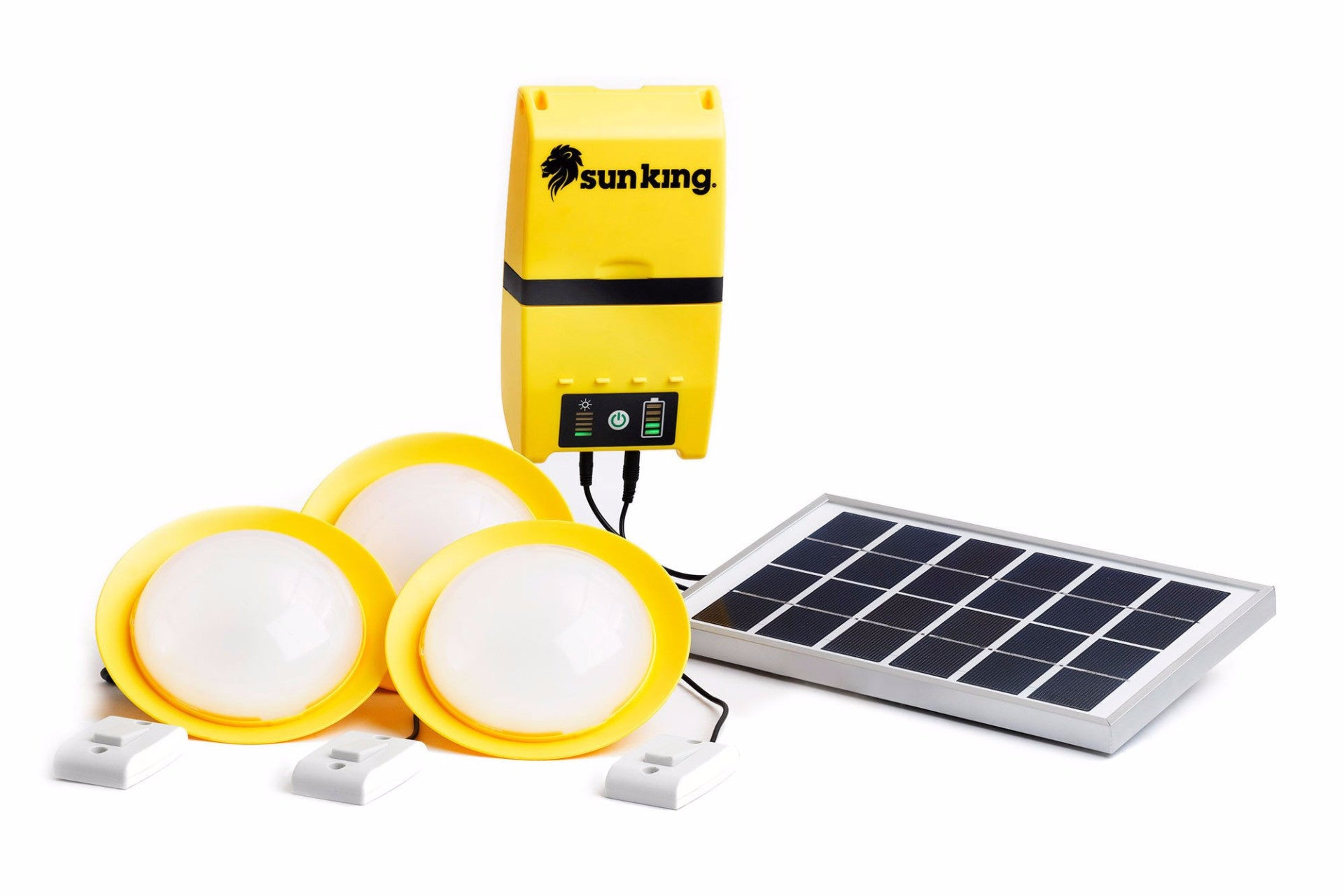 Beautiful Sun King Home   Solar Lights System, PowerBank, USB Charger Amazing Pictures