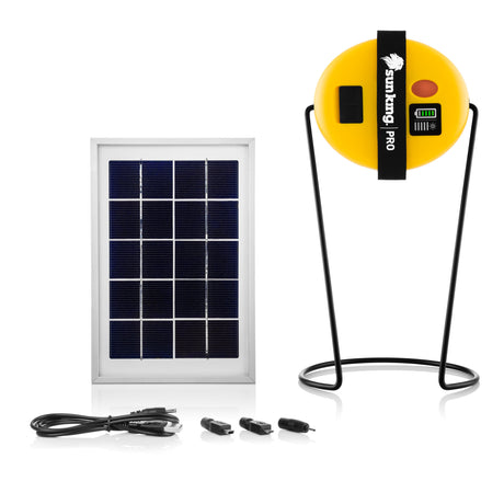 Sun King Pro AN Solar Powered Light, Power Bank, and USB Charger