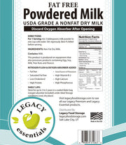 "USDA Grade ""A"" Powdered Milk"