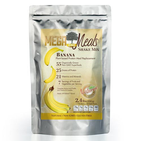 MegaOne Banana Meal Replacement Shake