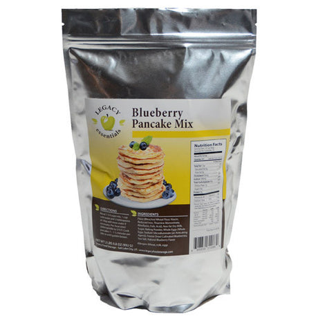 Emergency Blueberry Pancake Mix
